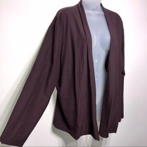 Eileen Fisher Woman Cardigan Size 2X
